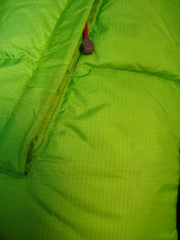 THE NORTH FACE ノースフェイス サミットシリーズ バルトロ ダウンジャケット 700フィル メンズ Mサイズ 正規品 ライムグリーン f129_画像6