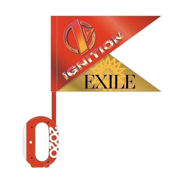 即決! EXILE PERFECT LIVE 2001→2020 ☆ 無線コントロールライト & IGNITION フラッグセット 未開封新品 / ペンライト_画像1