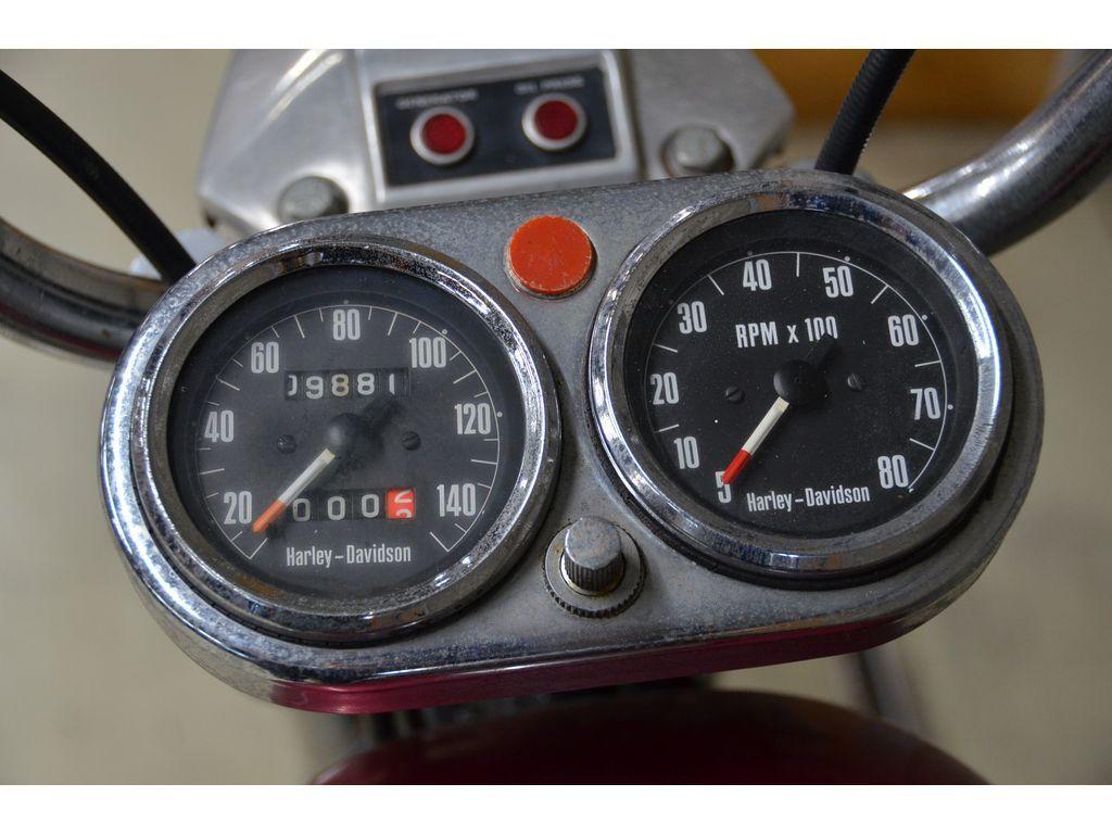 1970年式 HARLEY-DAVIDSON  XLCHボートテール『現状販売限定価格』(S-524)_画像10
