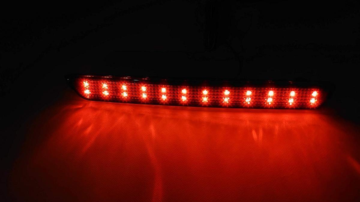 スモークレンズ マツダ 48連 LED リフレクター リアバンパー ライト ランプ アクセラ BK系 BK5P BKEP BK3P_画像4