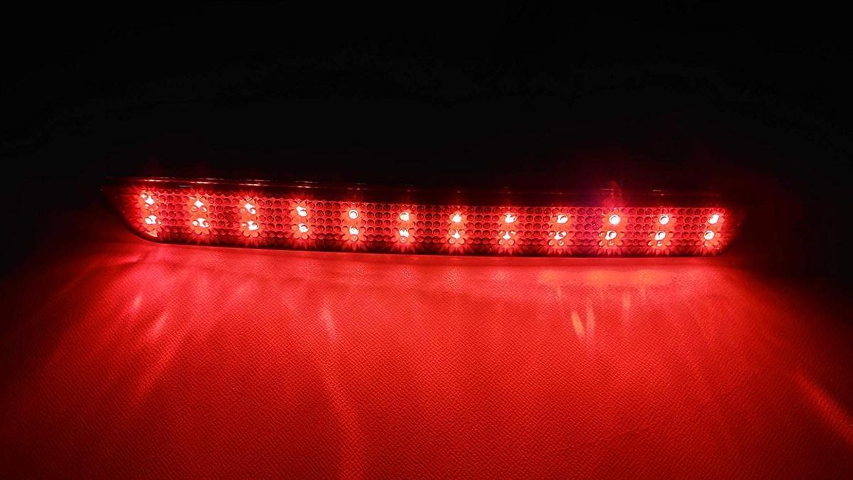 スモークレンズ マツダ 48連 LED リフレクター リアバンパー ライト ランプ アクセラ BK系 BK5P BKEP BK3P_画像3