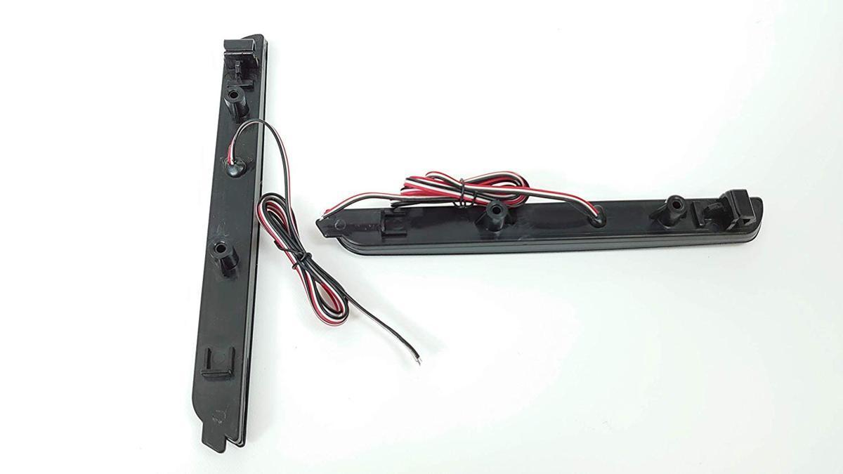 スモークレンズ マツダ 48連 LED リフレクター リアバンパー ライト ランプ アクセラ BK系 BK5P BKEP BK3P_画像2
