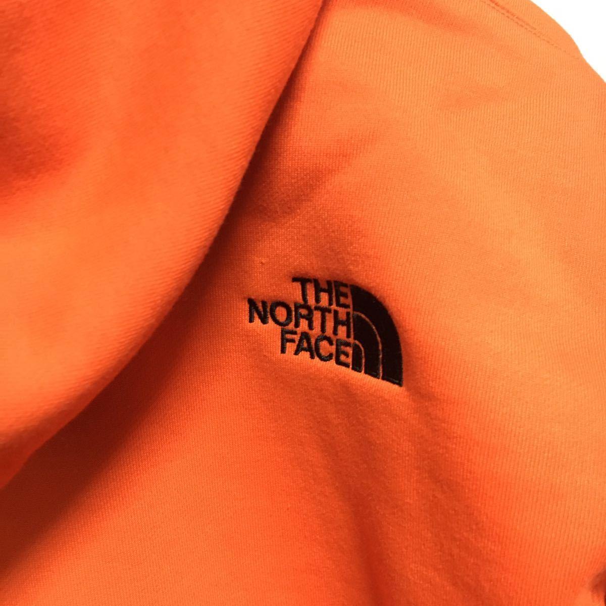 20AW 新品 直営店限定【Lサイズ】ノースフェイス【NT61916R】BIG HOODIE ビッグフーディ ビッグフーディー パーカー PG パパイヤオレンジ_画像6