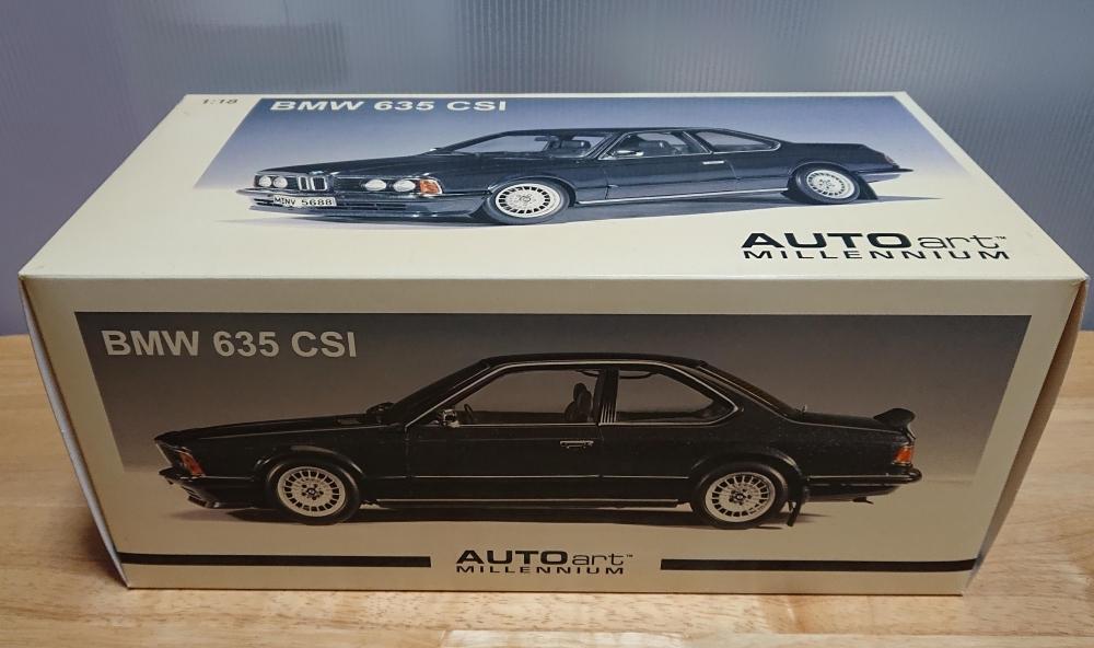 AUTOart 1:18 BMW 635 CSI 中古・現状_画像6