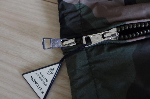 新品 即決 正規品 モンクレール ALLAIN 迷彩柄 カモフラ フーテッド ナイロン ジャケット ブルゾン パーカー サイズ3 カモフラージュ_画像5