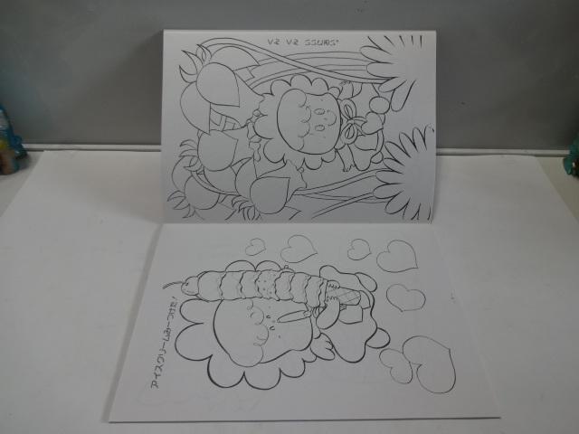 当時物  昭和レトロ  森の妖精 アーヌちゃん ぬりえ ショウワノート 日本製 デッドストック _画像7