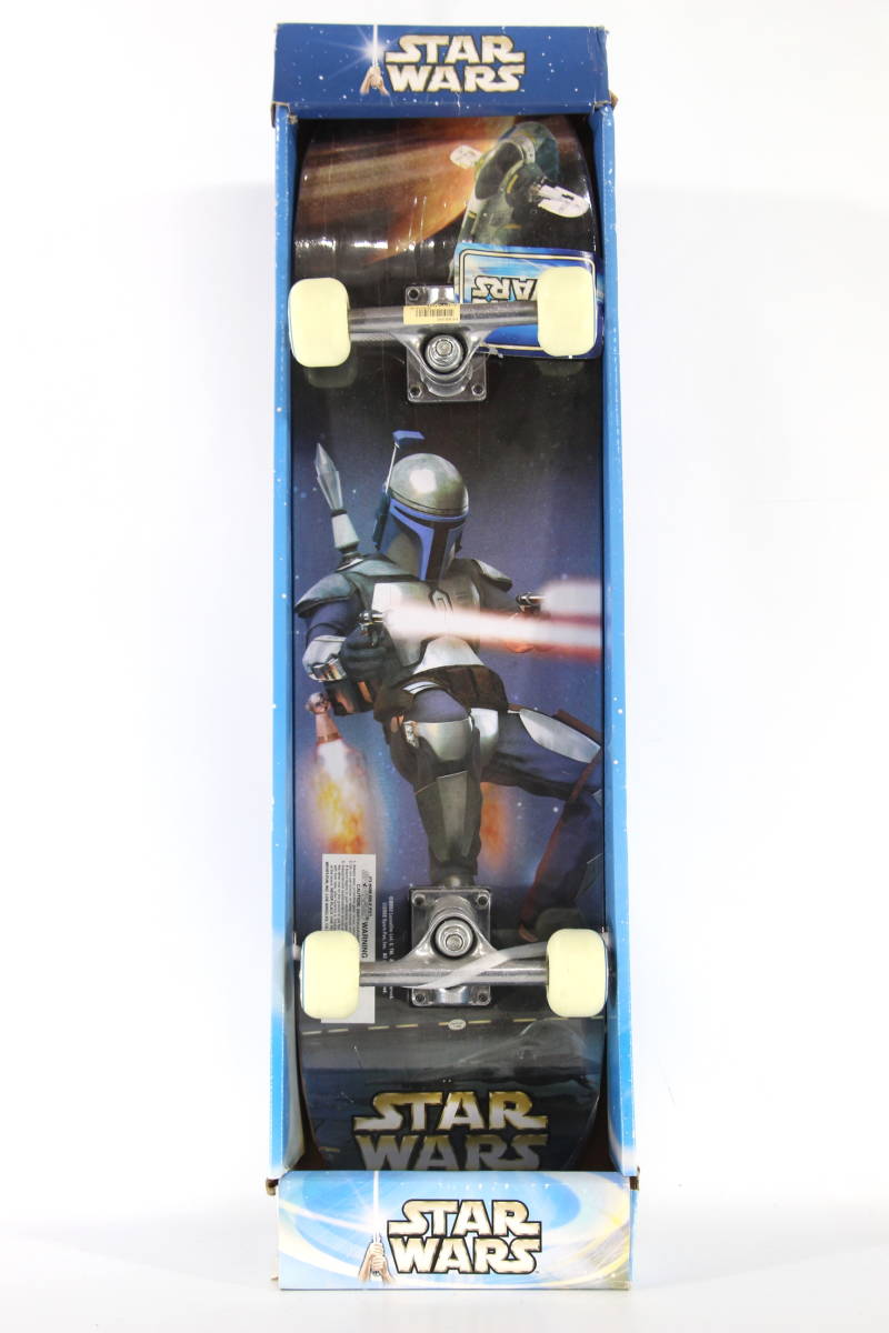 【激レア!】2002年 スターウォーズ スケートボード デッキ STARWARS コンプリート スケボー ストームトルーパー trooper_画像1