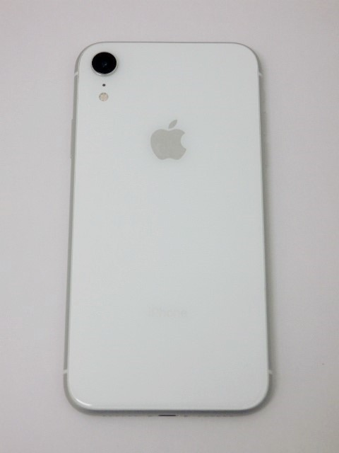 SIMフリー iPhone XR 128GB ホワイト バッテリー95% au 判定〇 MT0J2J/A SIMロック解除済_画像3