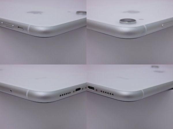 SIMフリー iPhone XR 128GB ホワイト バッテリー95% au 判定〇 MT0J2J/A SIMロック解除済_画像6