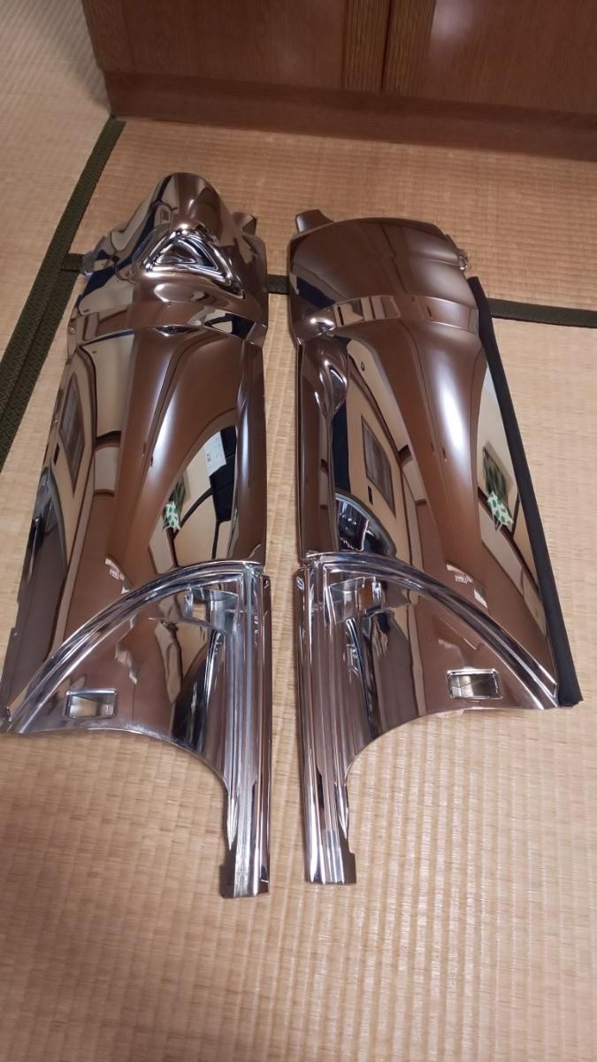 ☆日野純正 プロフィア グラプロ エアーループ メッキコーナーパネル 左右セット