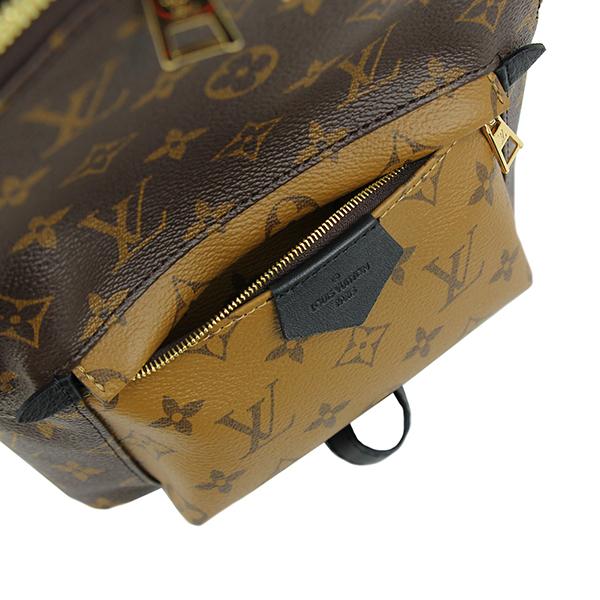 1585 新品 ルイヴィトン パームスプリングス バックパックPM モノグラムリバース リュックサック ショルダーバッグ 旅行かばん レディース_画像5