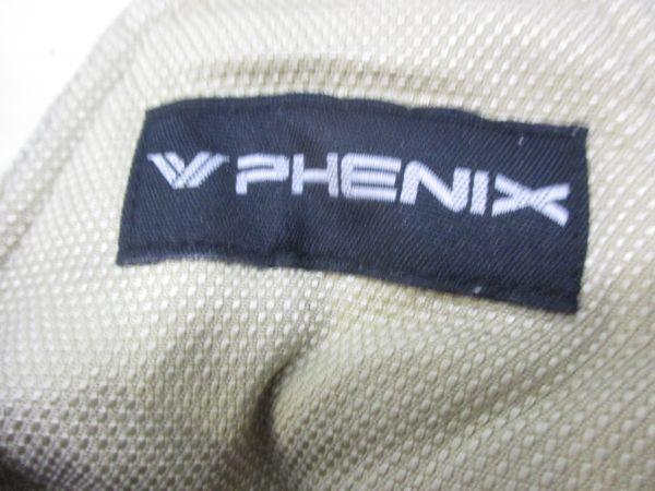 △フェニックス PHENIX スキーウェア 上下セット レディース M~Lサイズ 赤×茶 C2△_画像8