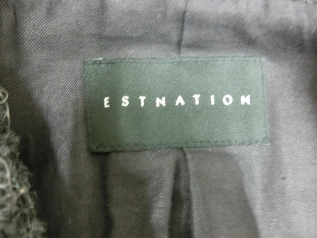 y601 ESTNATION レディース アウター チャコールグレー M-L程度_画像7