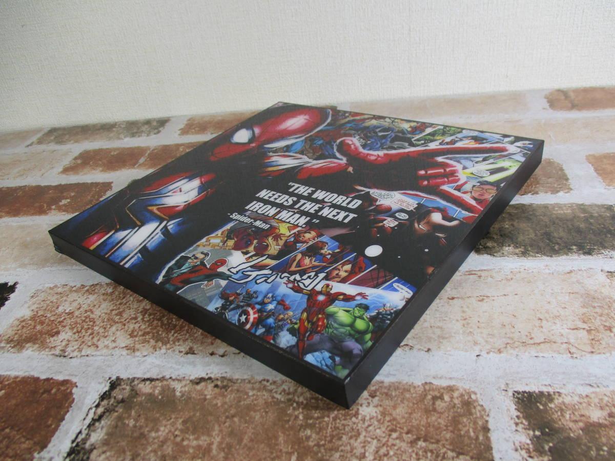 スパイダーマン Spider-Man 壁掛けパネル ポップアートフレーム ファブリックパネル インテリアボード ポップアートパネル インテリア雑貨_画像2