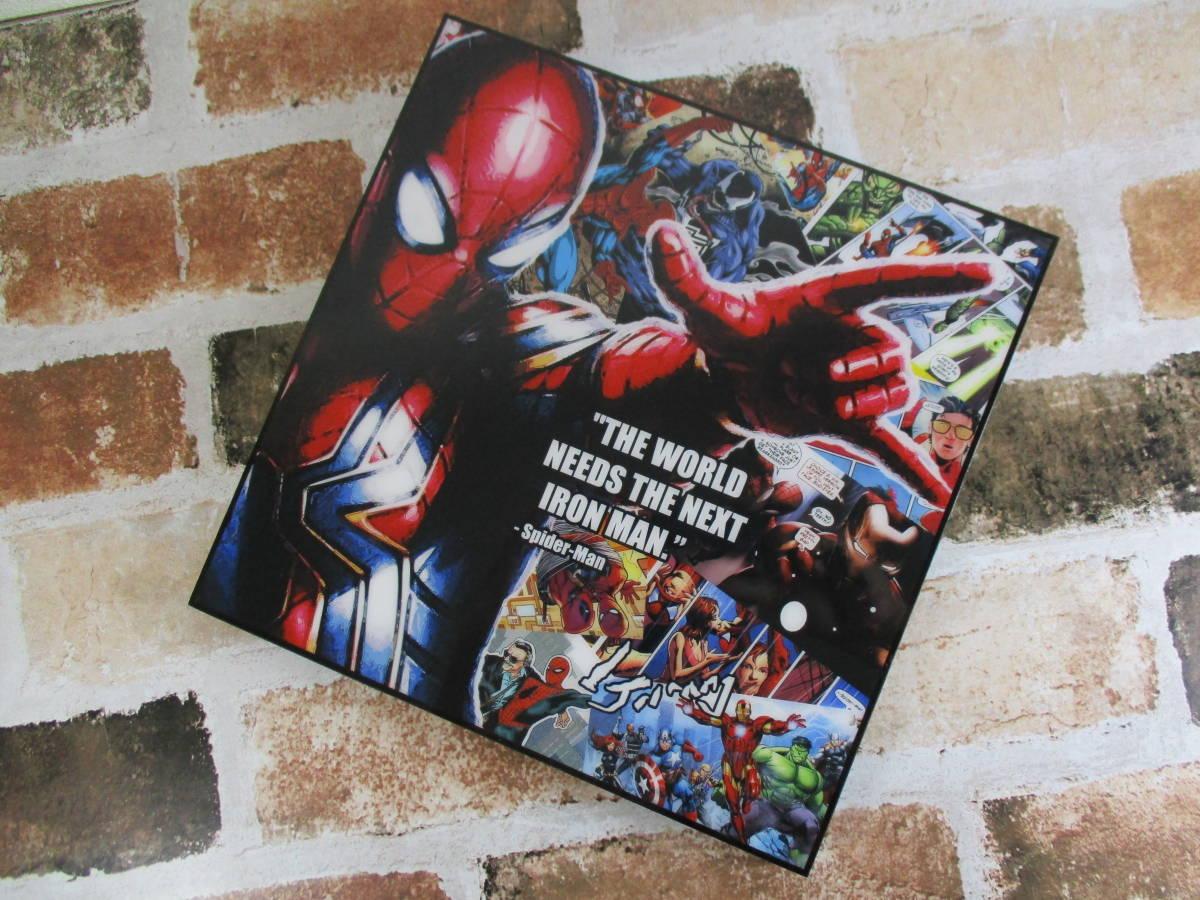 スパイダーマン Spider-Man 壁掛けパネル ポップアートフレーム ファブリックパネル インテリアボード ポップアートパネル インテリア雑貨_画像4