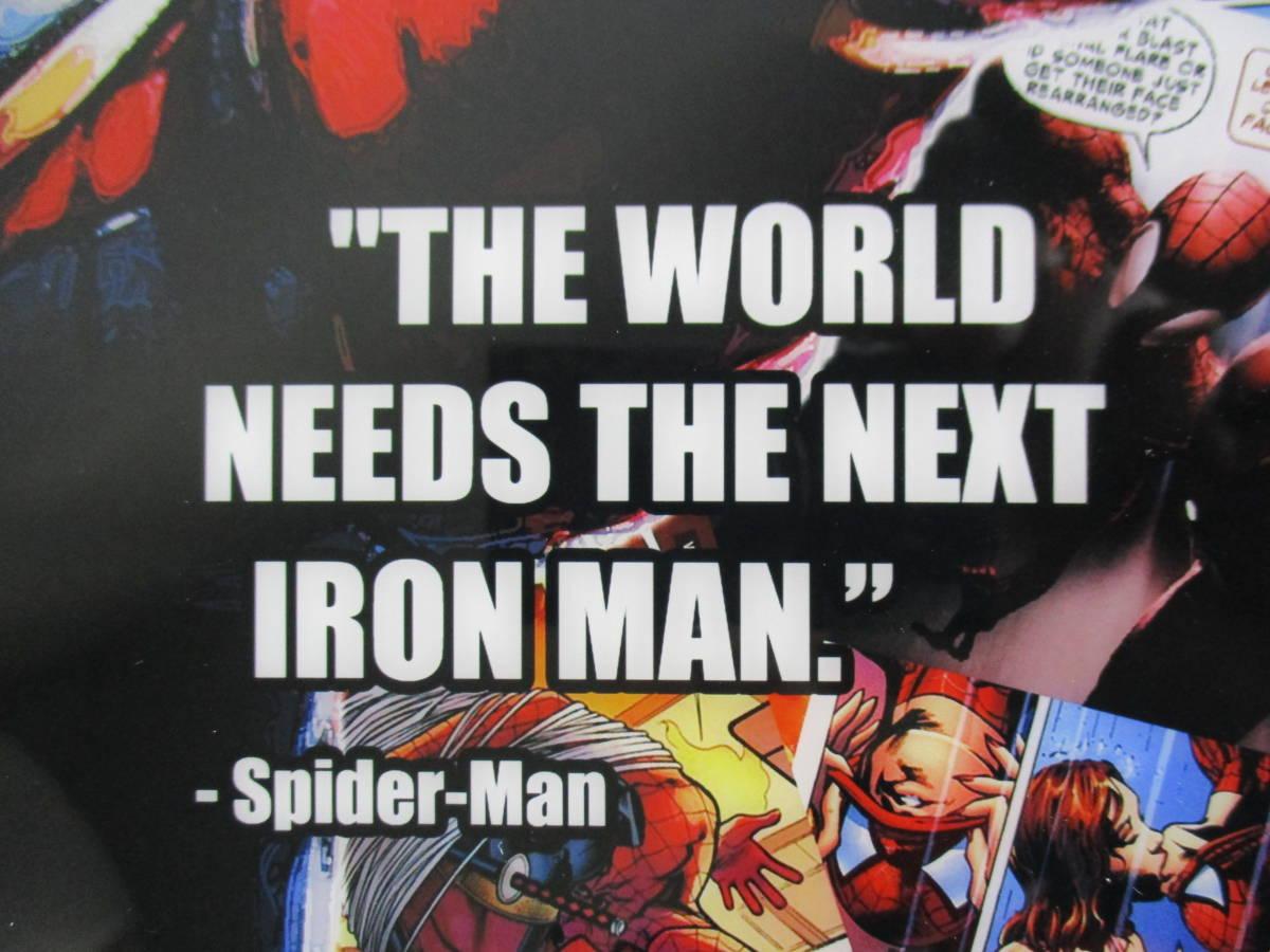 スパイダーマン Spider-Man 壁掛けパネル ポップアートフレーム ファブリックパネル インテリアボード ポップアートパネル インテリア雑貨_画像5