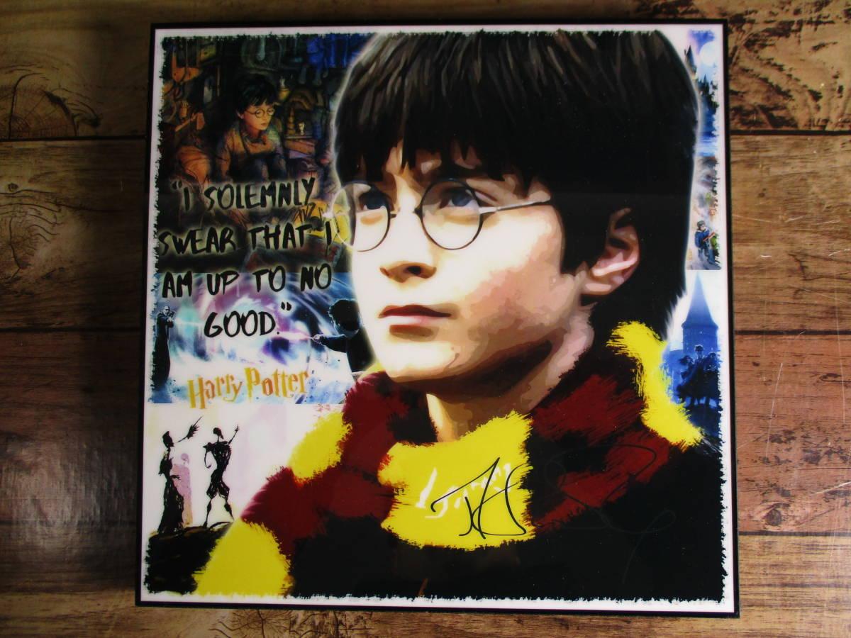 新品 映画 ハリー・ポッター Harry Potter 壁掛けパネル ポップアートフレーム ファブリックパネル インテリアボード ポスター 雑貨 壁飾り_画像4