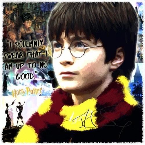 新品 映画 ハリー・ポッター Harry Potter 壁掛けパネル ポップアートフレーム ファブリックパネル インテリアボード ポスター 雑貨 壁飾り_画像1