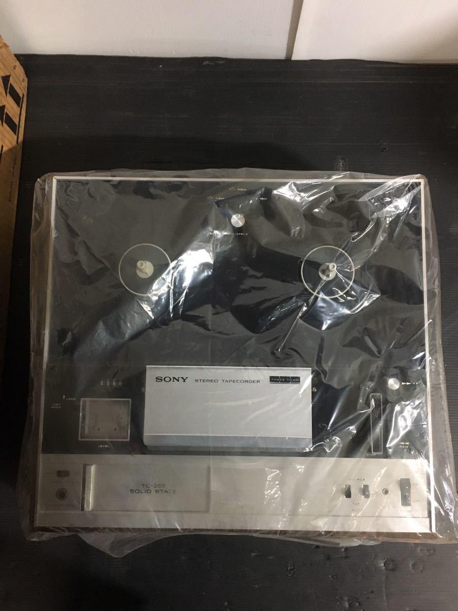 美品 SONY ソニー TC-355 オープンリールデッキ 3ヘッド ステレオ テープレコーダー_画像4