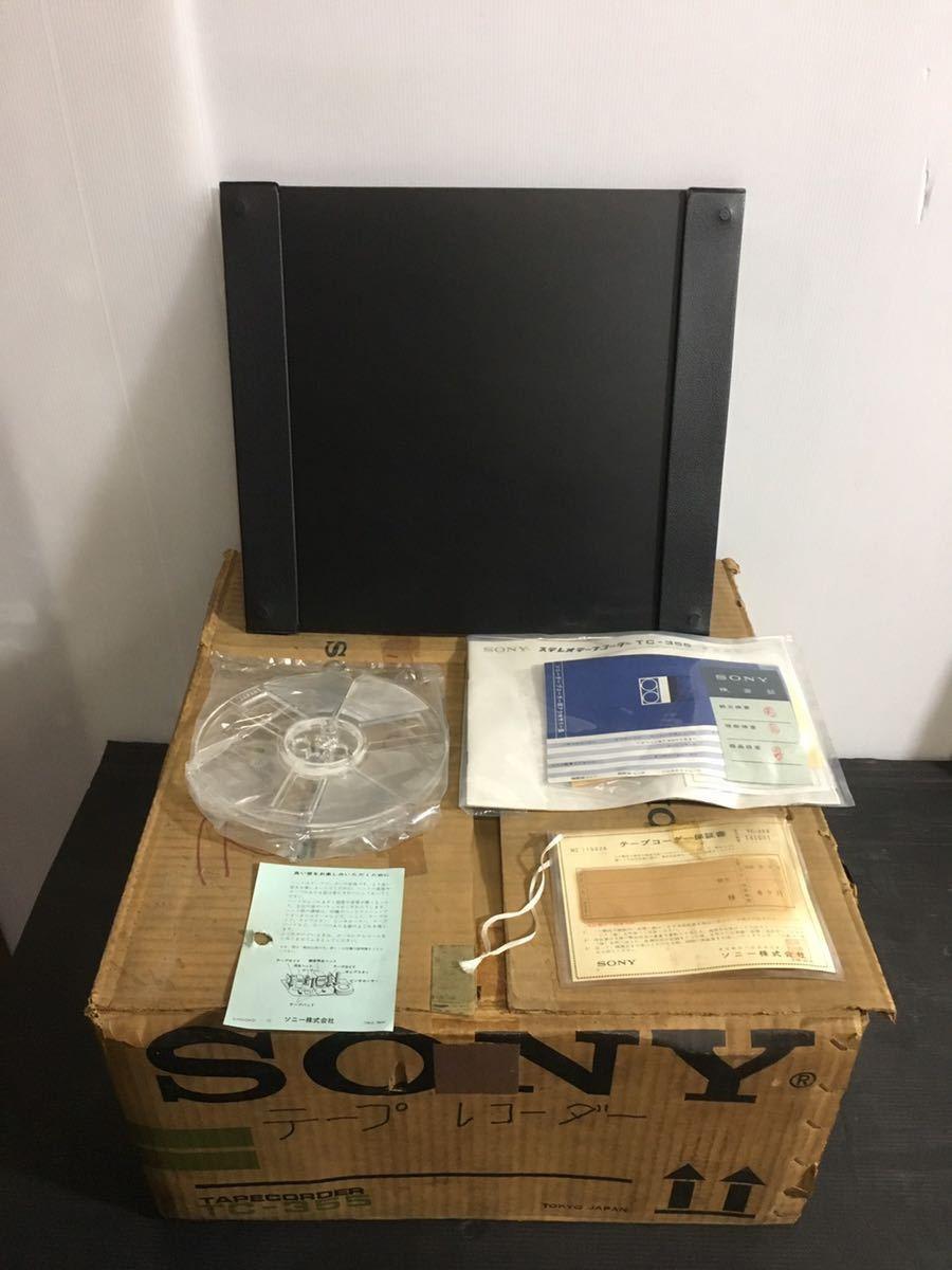 美品 SONY ソニー TC-355 オープンリールデッキ 3ヘッド ステレオ テープレコーダー_画像2