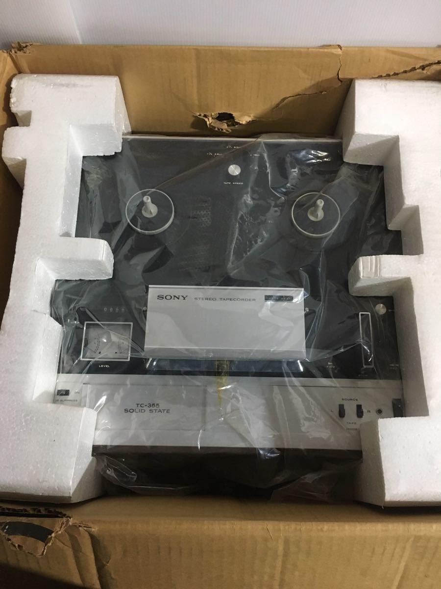 美品 SONY ソニー TC-355 オープンリールデッキ 3ヘッド ステレオ テープレコーダー_画像3