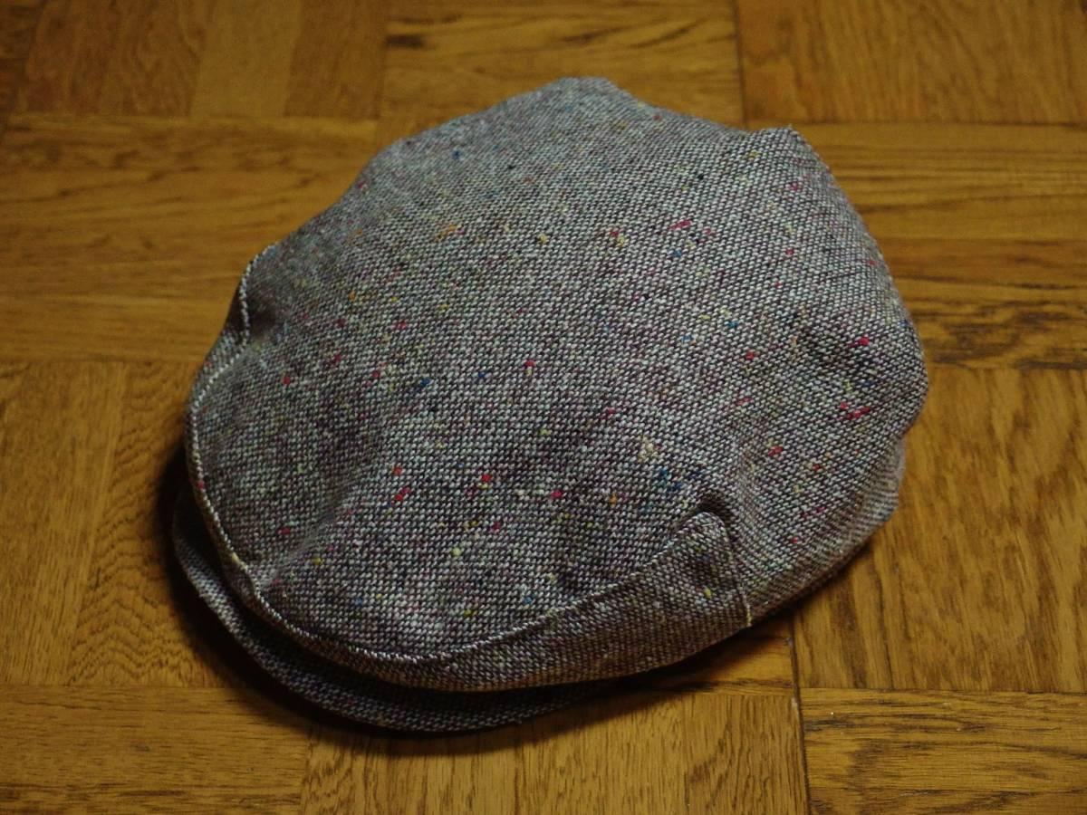 MADE IN USA New York Hat ニューヨークハット クラシカル ビンテージデザイン ツイード ウール ハンチング 帽子 20'S 30'S 40'S 50'S_画像2