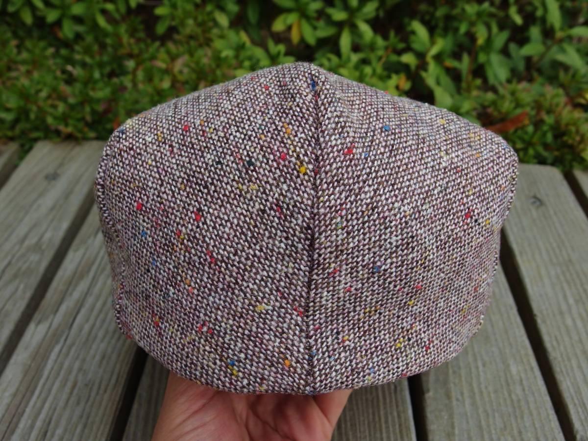MADE IN USA New York Hat ニューヨークハット クラシカル ビンテージデザイン ツイード ウール ハンチング 帽子 20'S 30'S 40'S 50'S_画像7