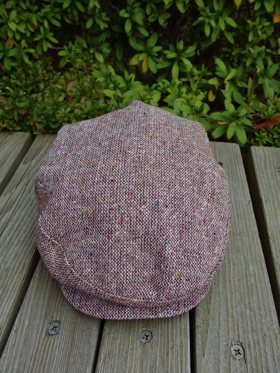MADE IN USA New York Hat ニューヨークハット クラシカル ビンテージデザイン ツイード ウール ハンチング 帽子 20'S 30'S 40'S 50'S_画像8