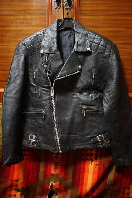 イギリス製 シープスキン 70s ~ ビンテージ UK ロンジャン レザー ライダース ジャケット ■ ■ ■ ルイスレザー 666 PUNK 40s 50s Schott