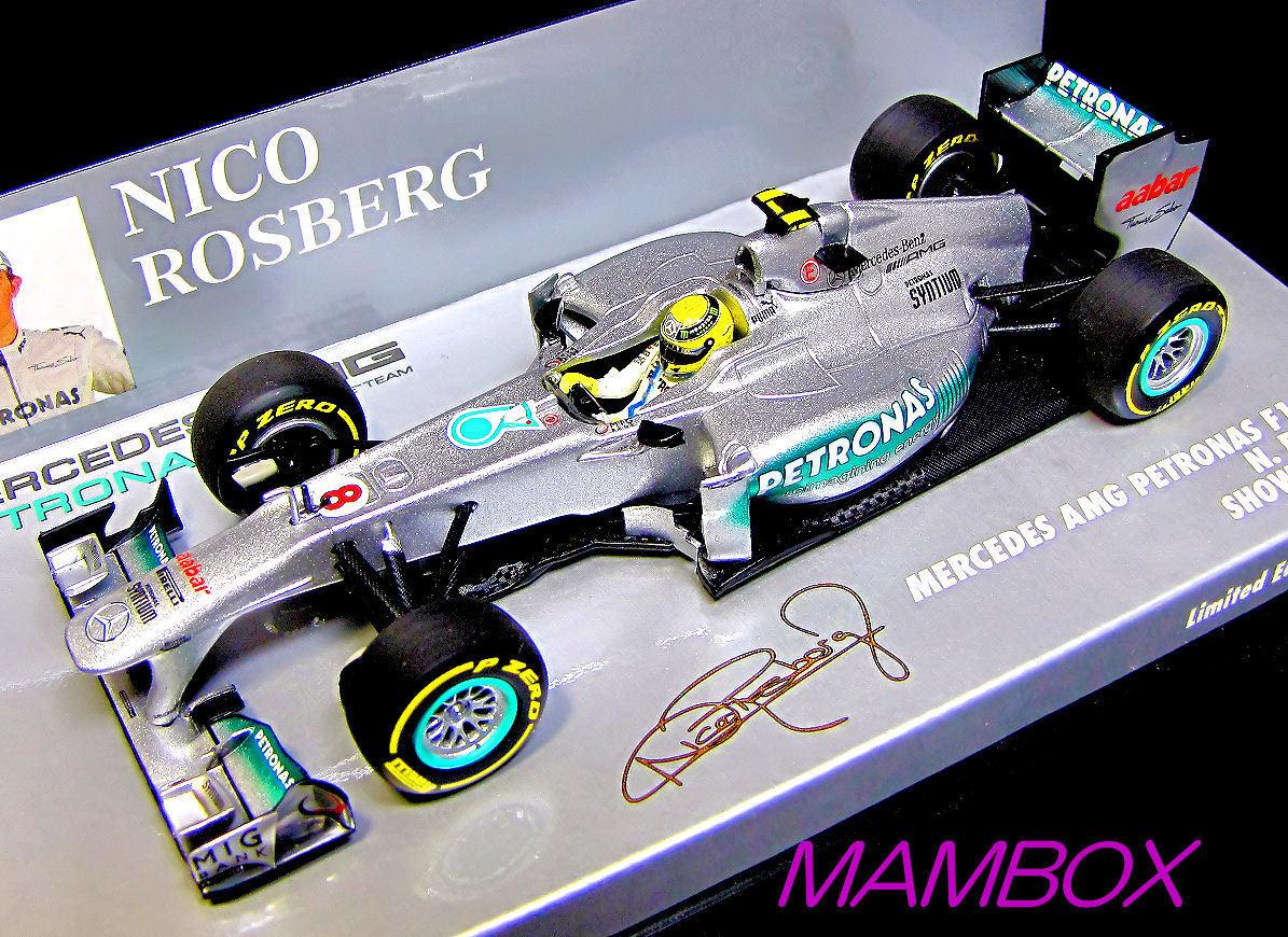 【フリマ】PM☆1/43 410120078 メルセデスAMGペトロナス F1 Rosberg 2012限定1008台_画像1