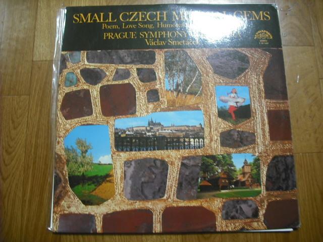 チェコSUPRAPHON1 10 1429 スメターチェク指揮/SMALL CZECH MUSICAL GEMS 青小字盤_画像1