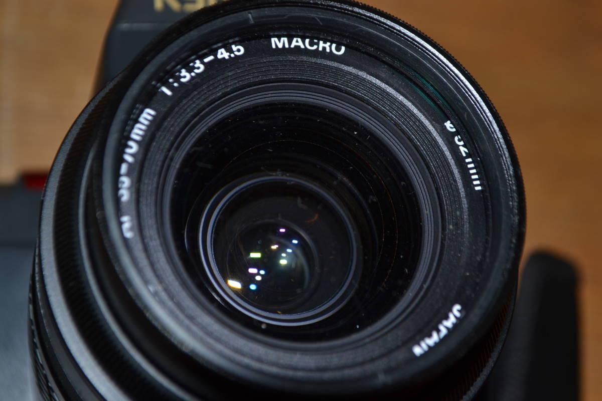 A◎KYOSERA 京セラ オートフォーカス 一眼レフカメラ 230-AF/レンズ AF 70-210㎜ 動作未確認のためジャンク扱い_画像10