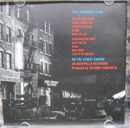 CD★山下 達郎(やました たつろう)■『ON THE STREET CORNER 1 ('86 VERSION)』(オン・ザ・ストリート・コーナー ワン 86バージョン)_画像2