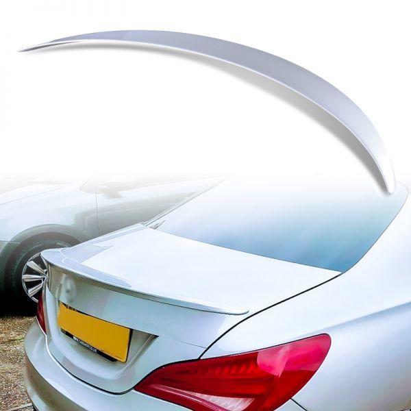 純正色塗装 ABS製 トランクスポイラー メルセデスベンツ CLAクラス C117 W117用 4ドアクーペ Aタイプ カラーコード:761 MTS-28483_画像1