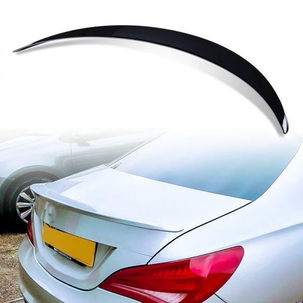純正色塗装 ABS製 トランクスポイラー メルセデスベンツ CLAクラス C117 W117用 4ドアクーペ Aタイプ カラーコード:696 MTS-28483_画像1