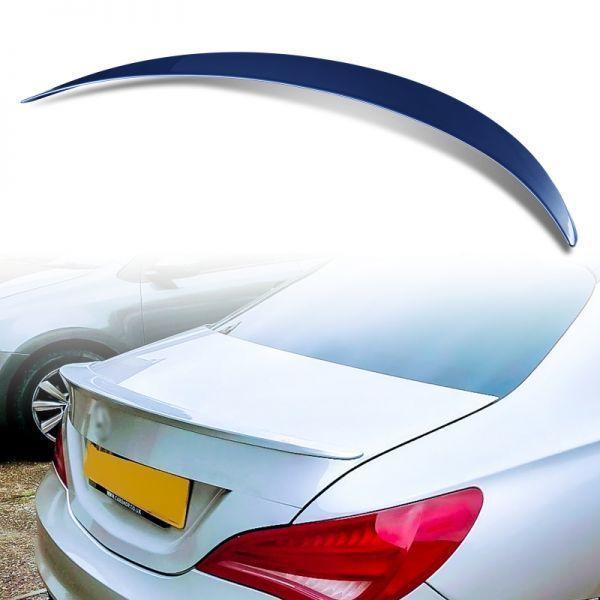 カスタム塗装 ABS製 トランクスポイラー メルセデスベンツ CLAクラス C117 W117用 4ドアクーペ Aタイプ MTS-28483_画像1