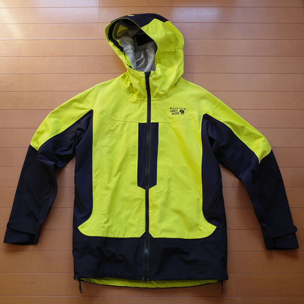 Mountain Hardwear(マウンテンハードウェア) Ward Peak 3L Jacket V.3 Lサイズ / DRY-Q CORE