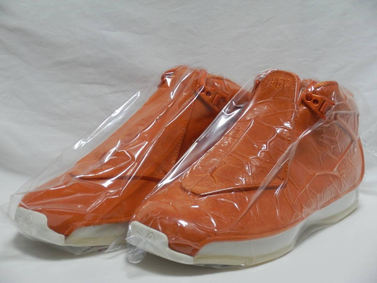18年 JORDAN 18 RETRO ORANGE SUEDE オレンジ/白 US9 新品箱付 AIR MAX 1 90 95 96 97 OG JORDAN 1 3 4 5 6 7 11 OG BRED NRG BANNED