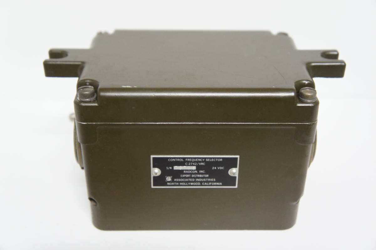 C-2742 / VRC周波数セレクターコントロールボックス 新品未使用品_画像7