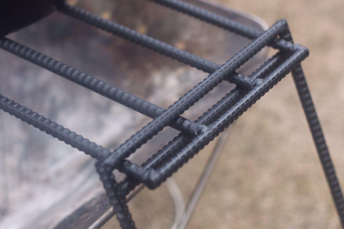 グリルスタンドロストルスタンド五徳焚き火台スタンド焚火台ユニフレーム スノーピーク LOGOS _画像4