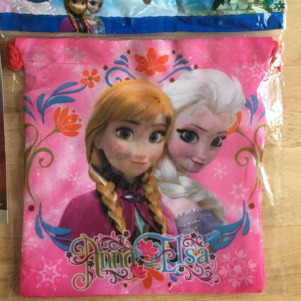 新品 アナ雪 アナと雪の女王 巾着 キーホルダー シール
