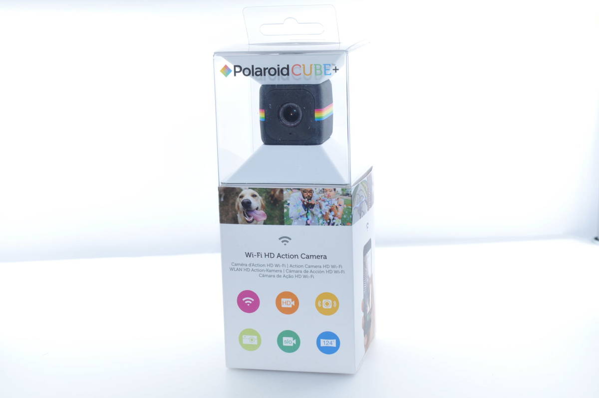 ★実用品★ ウェアラブルカメラ Polaroid CUBE+ #2406