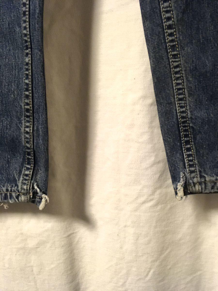90s Levi''s silver tab baggy ビンテージ デニムパンツ リーバイス シルバータブ ジーンズ バギー メキシコ製 32 インディゴ_画像4
