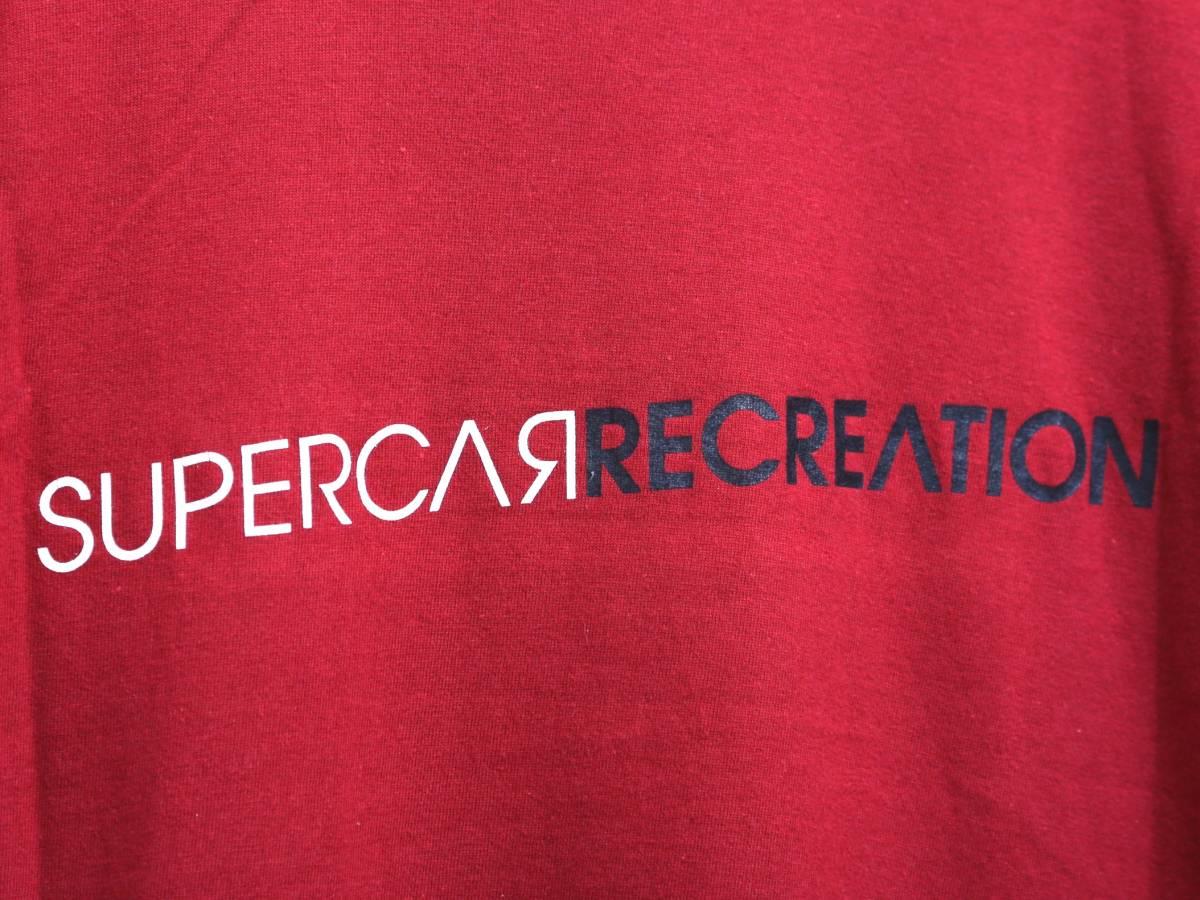 送料210円★激レア/非売品★SUPERCAR スーパーカー RECREATION 2003年 半袖 Tシャツ ロック バンド ツアー 石渡淳治 ナカコー フルカワミキ_画像3