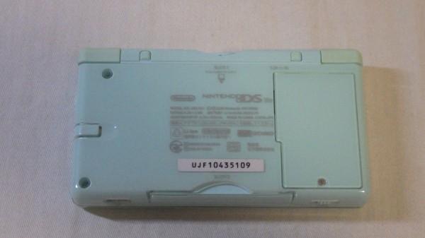 Nintendo/任天堂 DS Lite ライト+ソフト3本付き USG-001 アイスブルー ゲーム機 動作確認済み 60_画像6