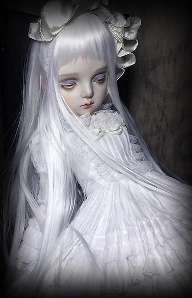 太山レミ作 オリジナルビスクドール 創作人形 E47 ※送料無料_画像6