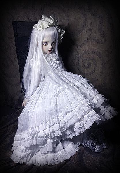 太山レミ作 オリジナルビスクドール 創作人形 E47 ※送料無料_画像5