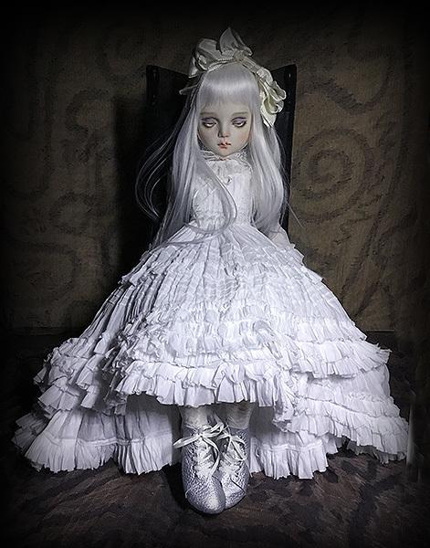 太山レミ作 オリジナルビスクドール 創作人形 E47 ※送料無料_画像3