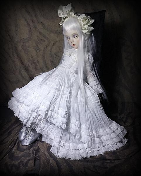 太山レミ作 オリジナルビスクドール 創作人形 E47 ※送料無料_画像2
