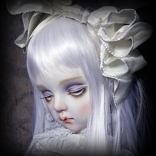 太山レミ作 オリジナルビスクドール 創作人形 E47 ※送料無料